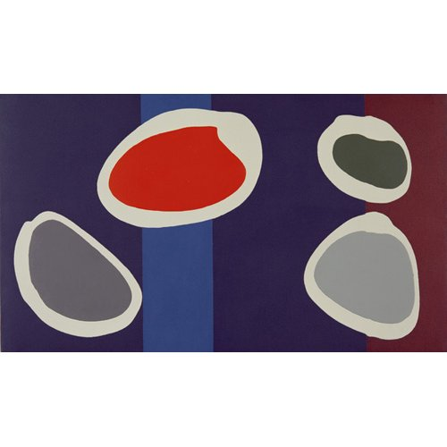 Cuadro -Go Discs, 1999 (acrylic on canvas) (pair with 146091)-