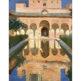 Cuadro -Alhambra, Salon de Embajadores, Granada -