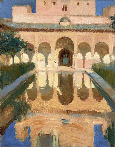 cuadros-de-paisajes - Cuadro -Alhambra, Salon de Embajadores, Granada - - Sorolla, Joaquin