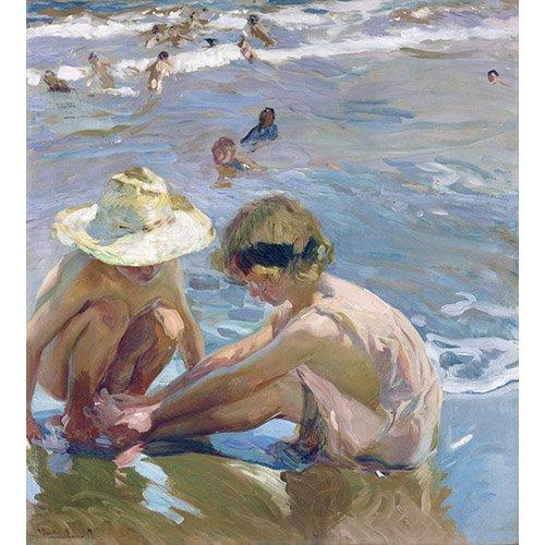 Cuadro - El pie herido, 1909 -