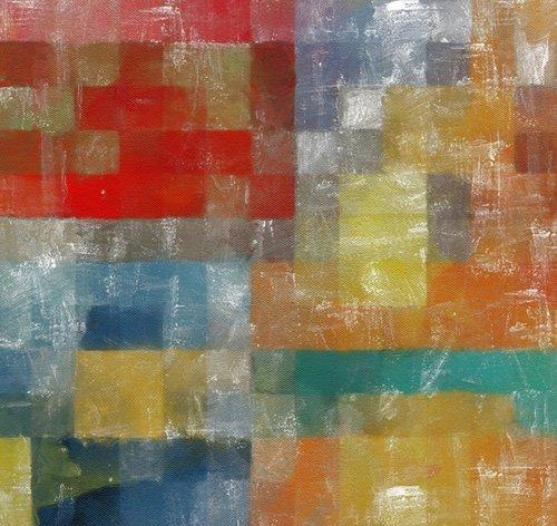 cuadros-modernos - Cuadro -as a flag,2017,(mixed media)- - Caminker, Alex