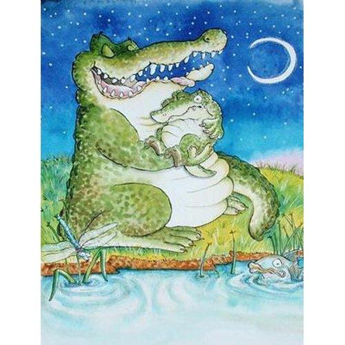 Cuadro -Crocodile Lullaby -