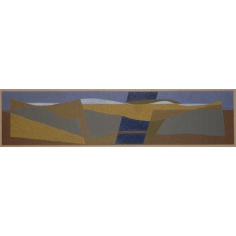 cuadros abstractos - Cuadro - Poundbury Landscape, 1997 - - Dannatt, George