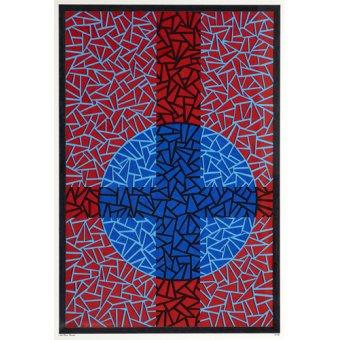 cuadros modernos - Cuadro - Deep Blue Placebo - - Dunn, Alex