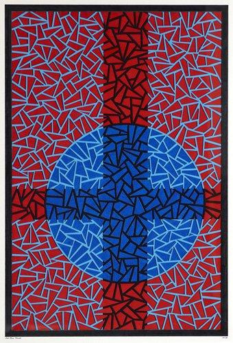 cuadros-abstractos - Cuadro - Deep Blue Placebo - - Dunn, Alex