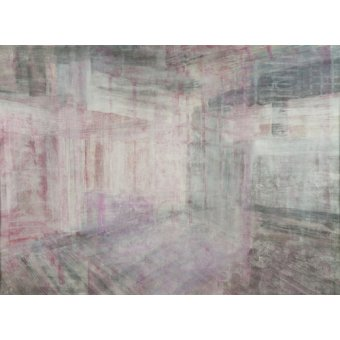 cuadros abstractos - Cuadro -Interior Screen composition pink- - Carline, Hermione