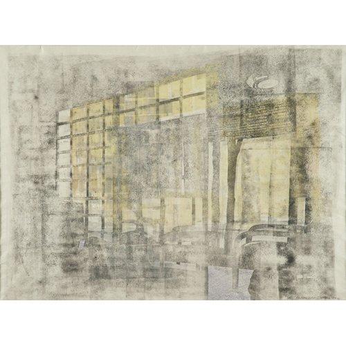 Cuadro -Interior Screen Composition yellow-