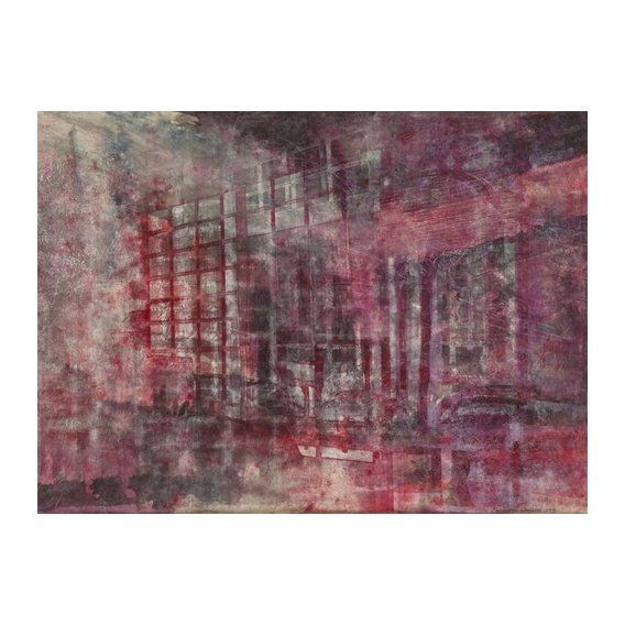 Cuadro -Interior Screen Composition red-