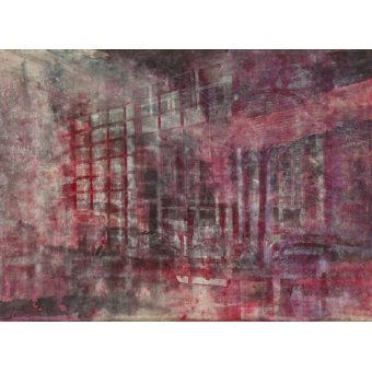 cuadros abstractos - Cuadro -Interior Screen Composition red- - Carline, Hermione