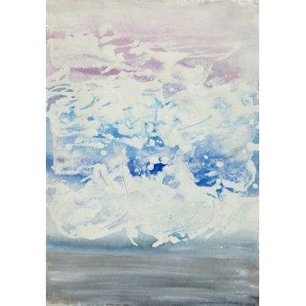cuadros abstractos - Cuadro -The Open Atlantic- - Carline, Hermione