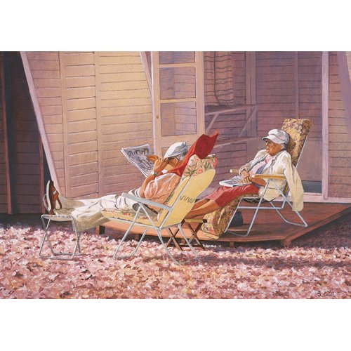 Cuadro -Evening Rest (oil on canvas)-