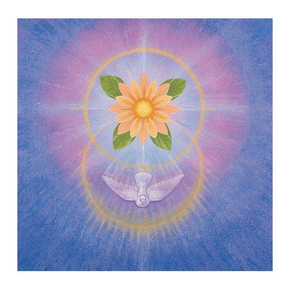 Cuadro -Flower (acrylic on canvas)-