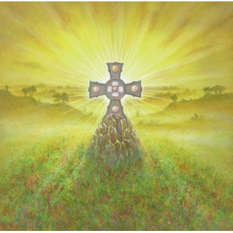 - Cuadro -Celtic Cross (acrylic on canvas)- - Cook, Simon