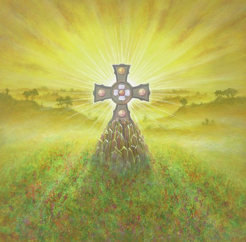 cuadros-modernos - Cuadro -Celtic Cross (acrylic on canvas)- - Cook, Simon