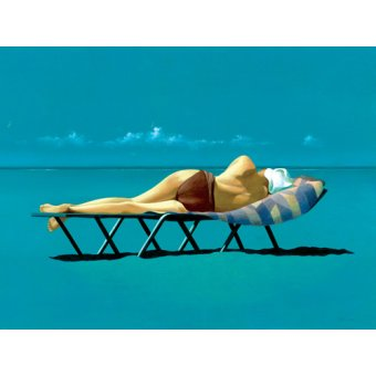 Cuadro -Sunbather (oil on canvas)-