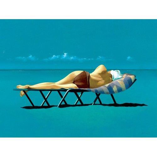 Cuadro -Sunbather (oil on canvas)-