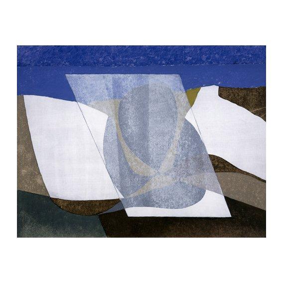 Cuadro -Falcon Cliff, 2001 (oil on board)-