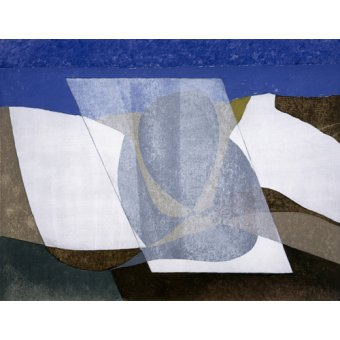cuadros abstractos - Cuadro -Falcon Cliff, 2001 (oil on board)- - Dannatt, George