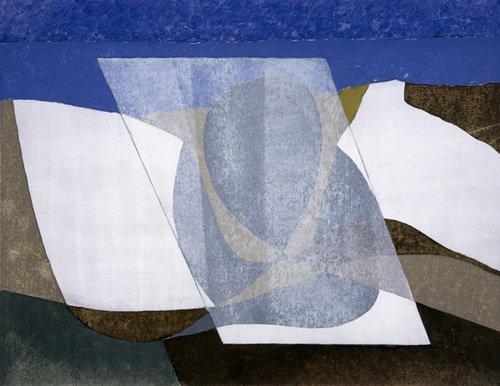 cuadros-abstractos - Cuadro -Falcon Cliff, 2001 (oil on board)- - Dannatt, George