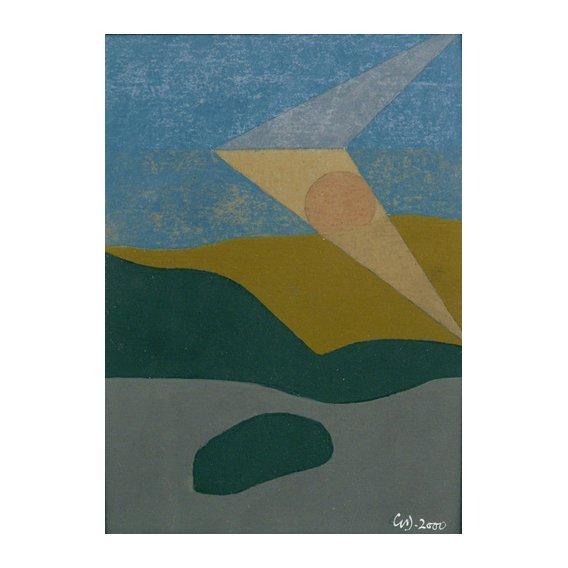 Cuadro -Untitled, 2000 (oil on card)-