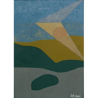 - Cuadro -Untitled, 2000 (oil on card)- - Dannatt, George