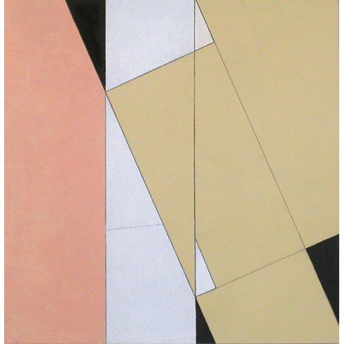 Cuadro -Spatial Relationship, No 2, 2003 (oil on paper and board)-