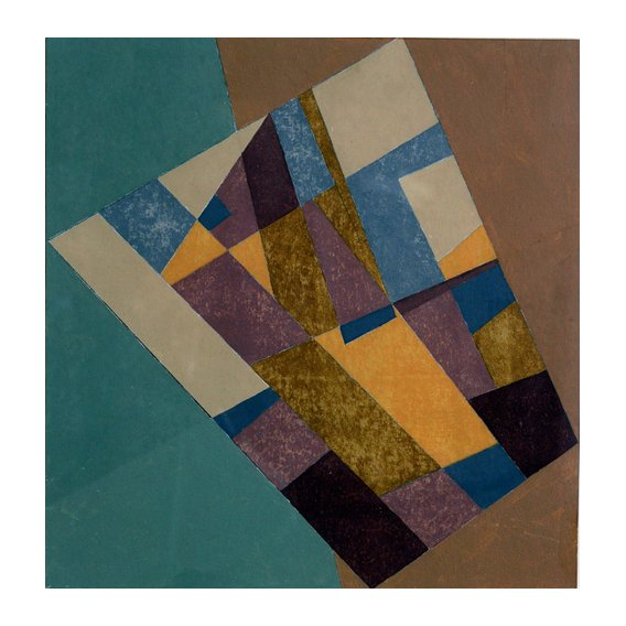 Cuadro -Field Tapestry, 2003 (oil on card)-