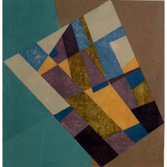 cuadros abstractos - Cuadro -Field Tapestry, 2003 (oil on card)- - Dannatt, George