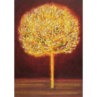 cuadros abstractos - Cuadro -Blossoming Tree- - Davidson, Peter
