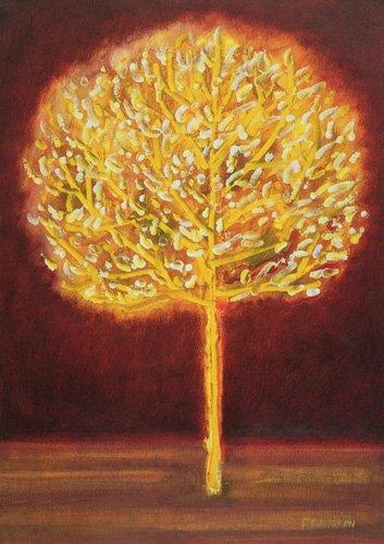 cuadros-modernos - Cuadro -Blossoming Tree- - Davidson, Peter