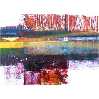 cuadros abstractos - Cuadro -Treeline, 2010- - Decent, Martin