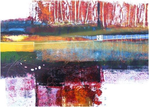 cuadros-modernos - Cuadro -Treeline, 2010- - Decent, Martin
