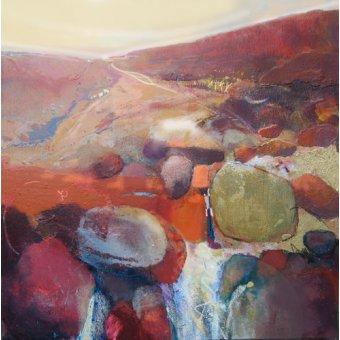 cuadros abstractos - Cuadro -Waterfall, 2010- - Decent, Martin