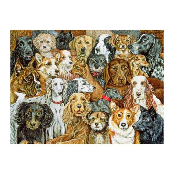 Cuadro -Dog Spread, 1989-