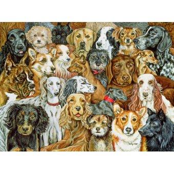- Cuadro -Dog Spread, 1989- - Ditz