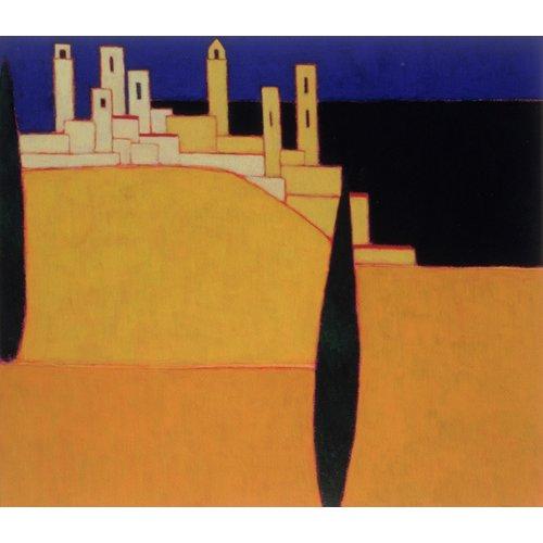 Cuadro -San Gimignano, Tuscany, 2000-