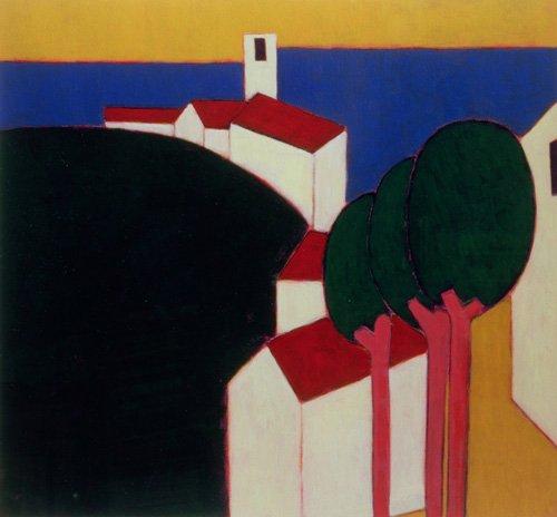 cuadros-modernos - Cuadro -In the Luberon, 2000- - Donne, Eithne