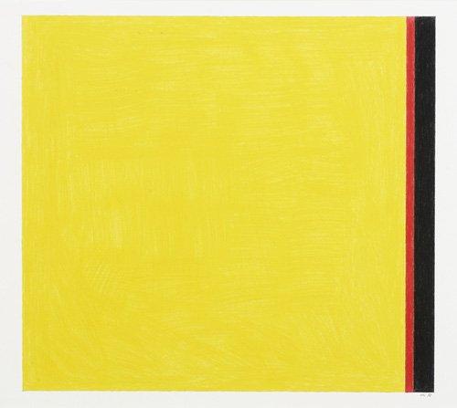 cuadros-abstractos - Cuadro -Go to Yellow- - Dunn, Alex