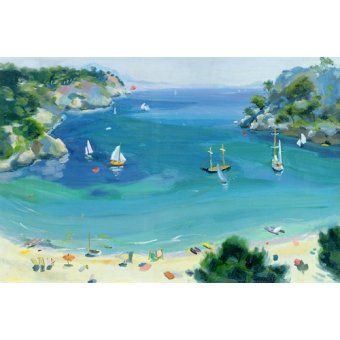 cuadros de marinas - Cuadro -Cala Galdana, Minorca, 1979- - Durham, Anne