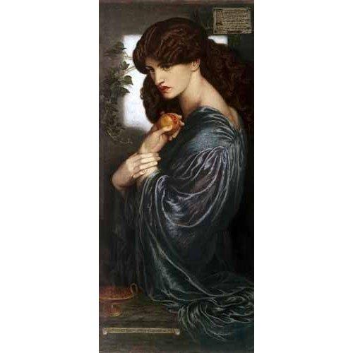 cuadros de retrato - Cuadro -Proserpina-