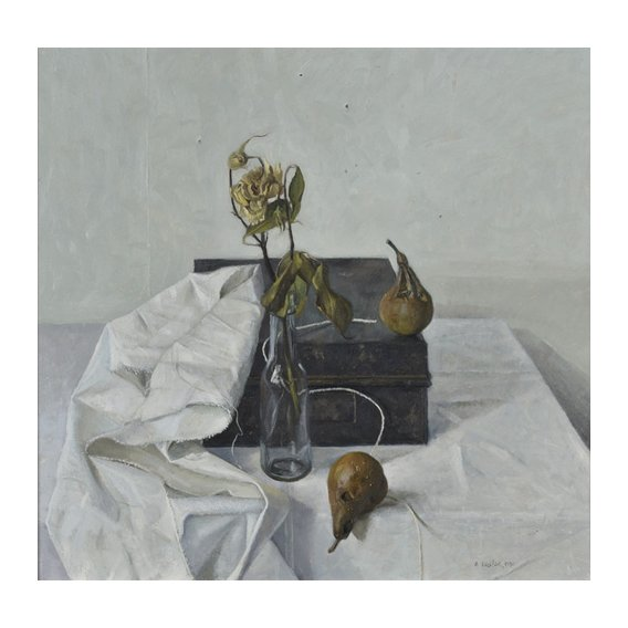 Cuadro -The Box and Rotten Pears, 1990-
