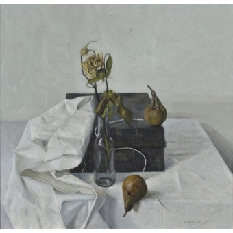- Cuadro -The Box and Rotten Pears, 1990- - Easton, Arthur
