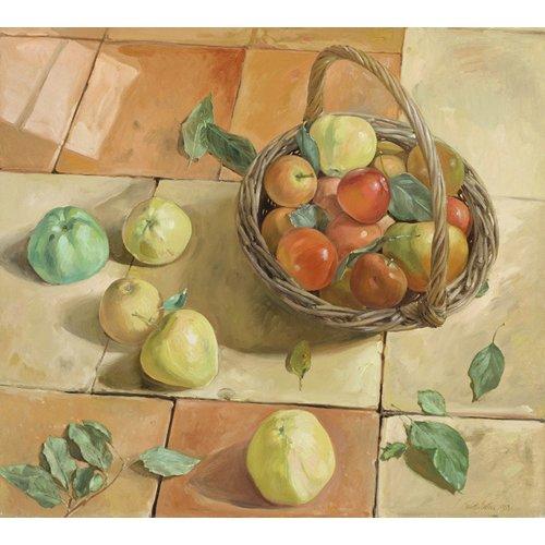 Cuadro -The Apple Basket-