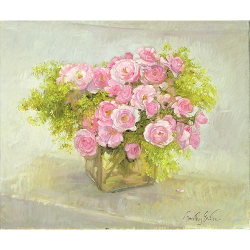 Cuadro -Alchemilla and Roses, 1999-
