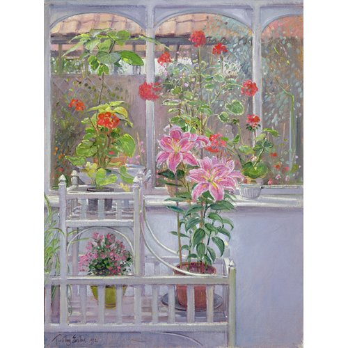 Cuadro -Through the Conservatory Window, 1992 -