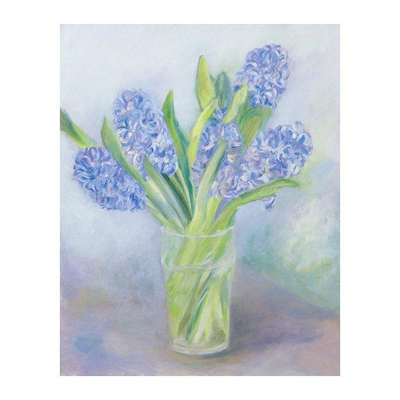 Cuadro -Hyacinths-