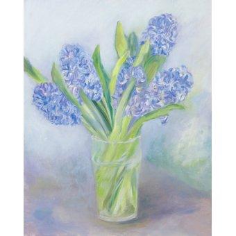 cuadros de marinas - Cuadro -Hyacinths- - Elliot, Sophia