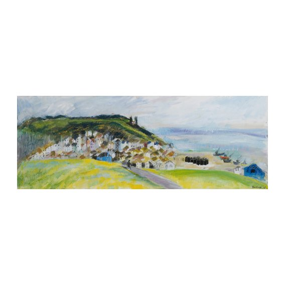 Cuadro -View from West Hill, 2010-