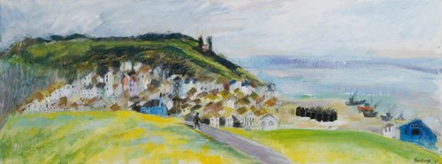 hall - Cuadro -View from West Hill, 2010- - Elliot, Sophia