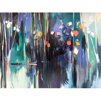 cuadros abstractos - Cuadro -reflect- - Evans, Charlotte